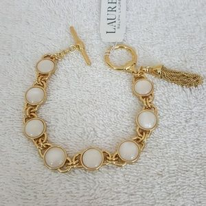 New Ralph Lauren Gold Flex Bracelet